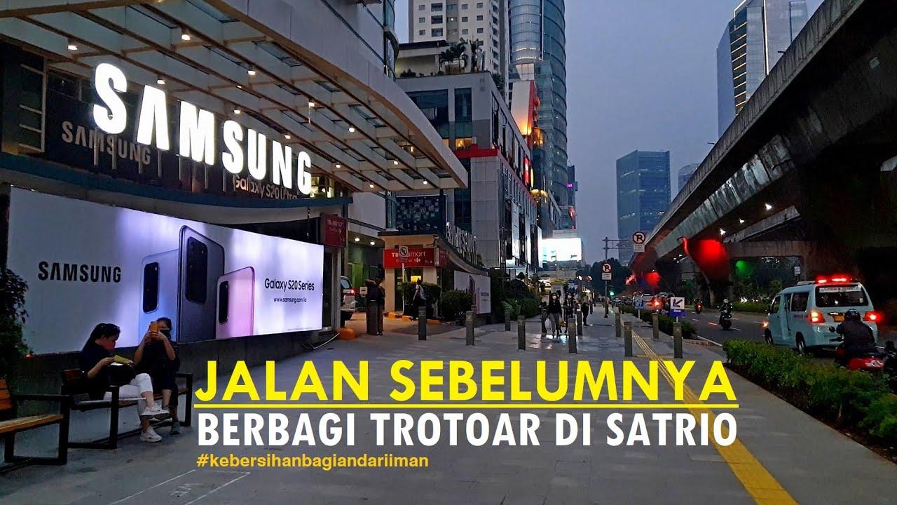 ⁴ᴷ⁶⁰ Walking Around ~ at Dr Satrio Sidewalk to Manhattan Hotel thru Ambassador Mall and ITC Kuningan