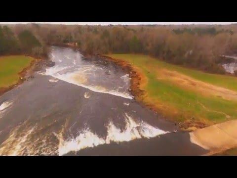 Parrot Bebop 2 :  Lake Palestine,TX Flight Footage