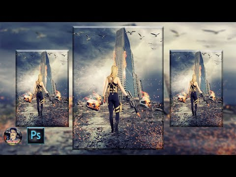 Action movie poster look photo manipulation photoshop tutorial