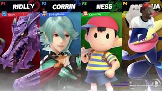Smash bros, but you can't attack.