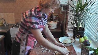 Готовим по-домашнему. Как приготовить пельмени. Вкусная кухня Полины Волконской.