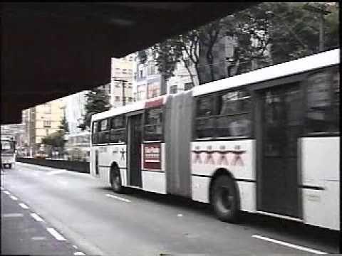 Ciferal GLS Bus Articulado e Caio Apache VIP Articulado Brazilian Buses - YouTube