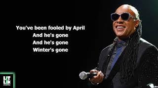 Stevie Wonder - Summer Soft (Lyrics)