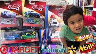 Disney Cars Diecast Toy Hunt Next Gen CHRIS ROAMIN SHRIRAM | Hot Wheels Nerf Blaster Toy Hunt