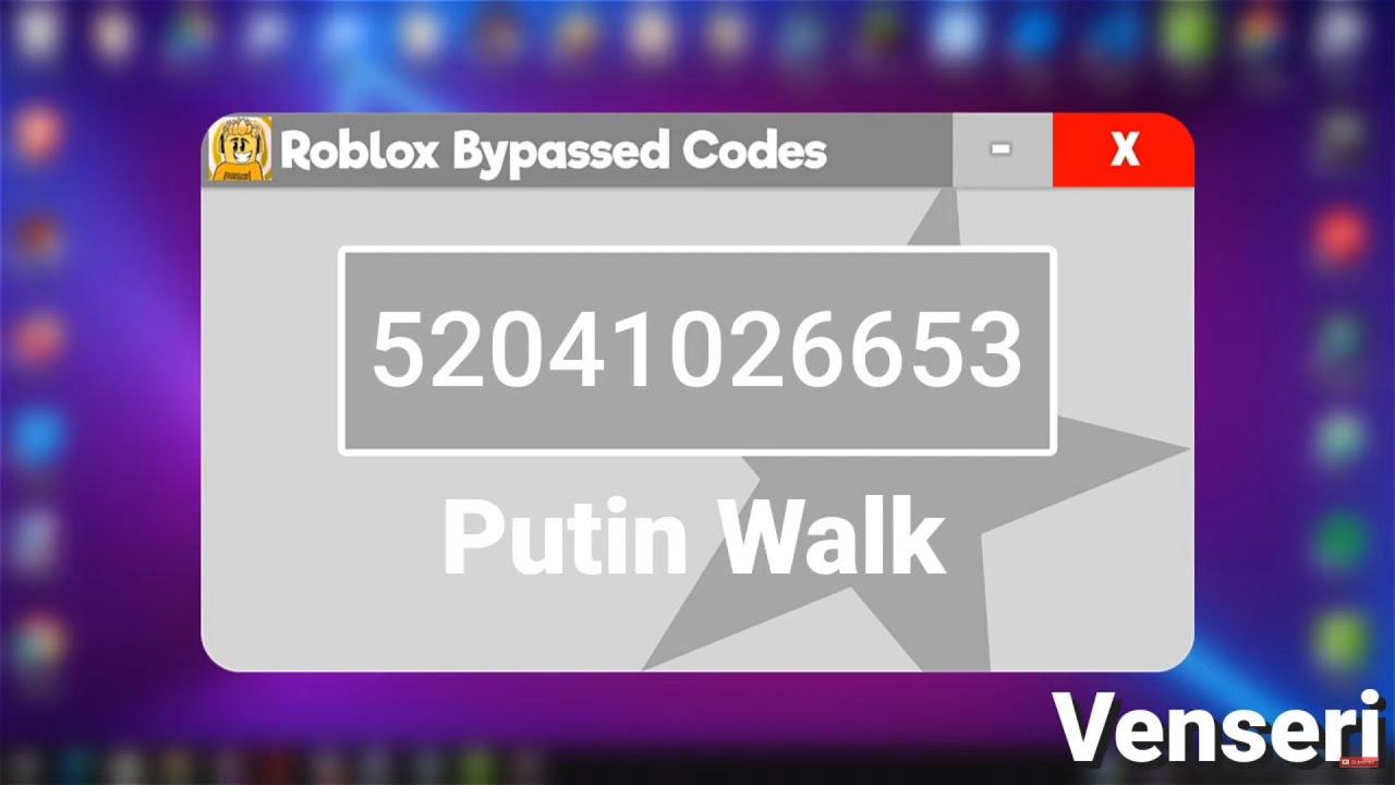 Walk Roblox Id Bypassed 20 Loud Bypassed Roblox Music Codes Ids 2020 Youtube