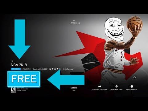 Get NBA 2K18 For FREE!!! 100% Legit **Not Click Bait**