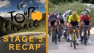 Tour de France 2018: Stage 5 Recap I NBC Sports