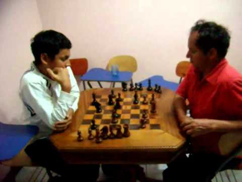 Chess Game: Son Beats Father for First Time