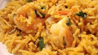 Kolambi Bhaat (Prawn Rice)