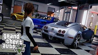 Mädchen KAUFT SPORTWAGEN! 😱 - GTA 5 Real Life Mod