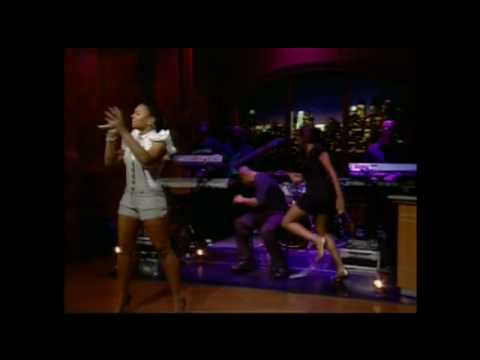 Ashanti The Way That I Love You LIVE On Regis & Kelly