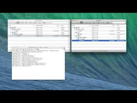 Spitfire Tutorials - How to merge folders on Mac OS X