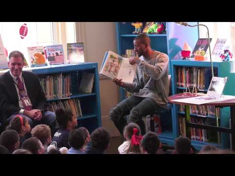 Malcolm Mitchell at Tilton School in Haverhill, MA - May 3, 2017