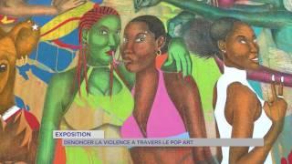 """Exposition : dénoncer la violence à travers le """"Pop Art"""""""