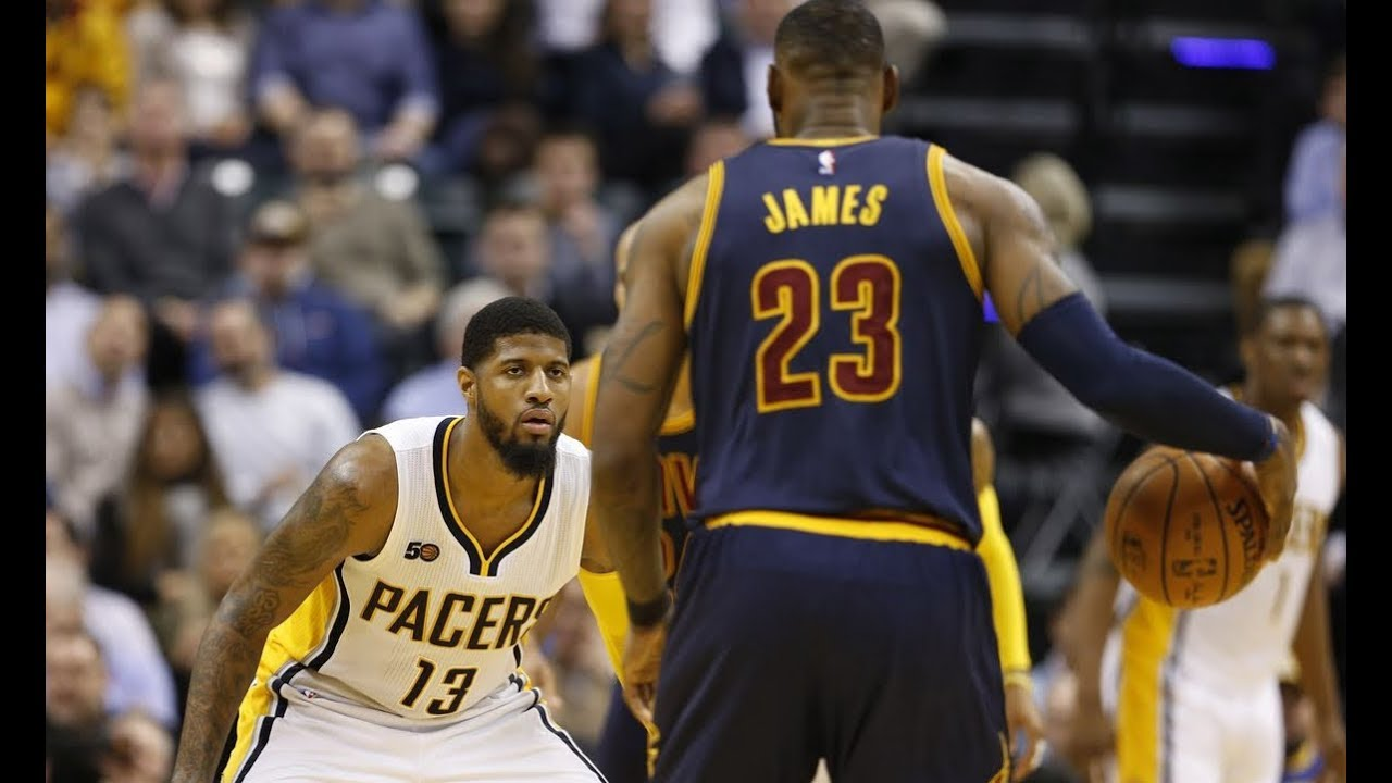 LeBron James Shuts Down Paul George And Pacers In The Playoffs(Best Defense!)