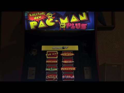 Arcade1up Pac-Man Plus, Dig Dug, Super Pac-Man, Galaga HSN Exclusive 2020 Version Review from Mr. Hank