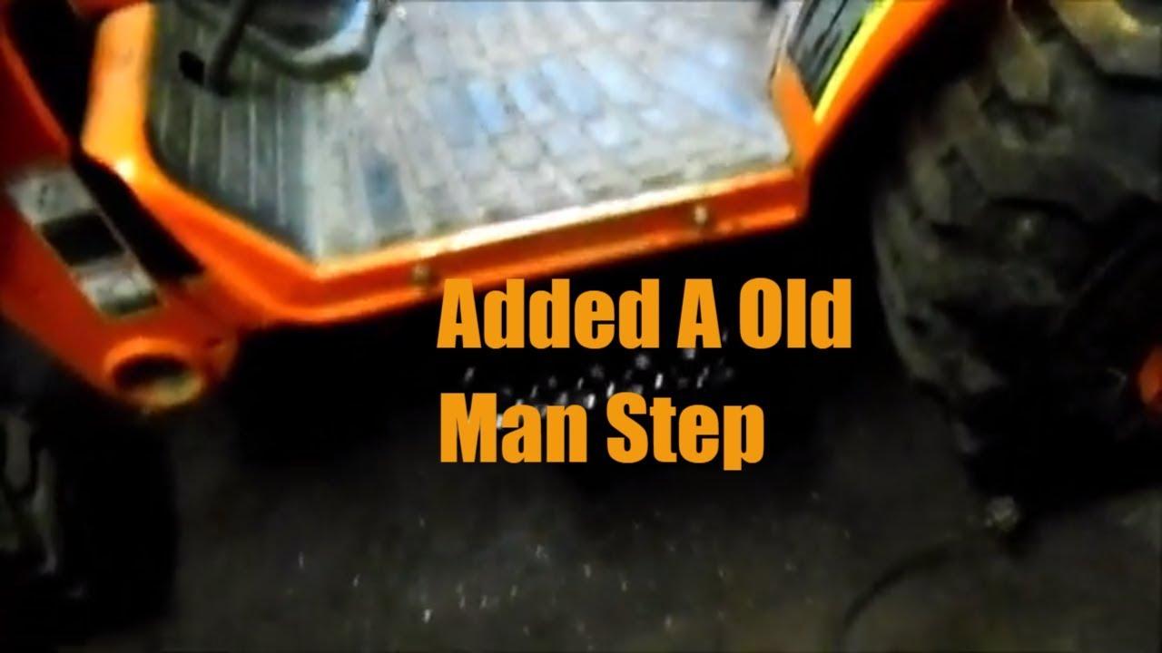Kubota B Tractor Mods 2 Floor Step