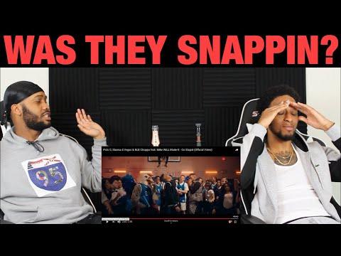 Polo G, Stunna 4 Vegas & NLE Choppa - Go Stupid | Official Music Video | FIRST REACTION