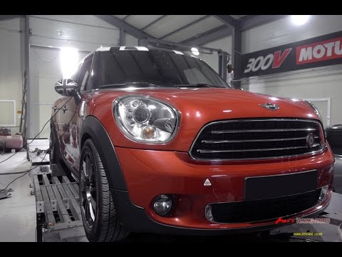 BMW R60 MINI Cooper D Countryman Mar's ECU Tune Dyno Test 148HP