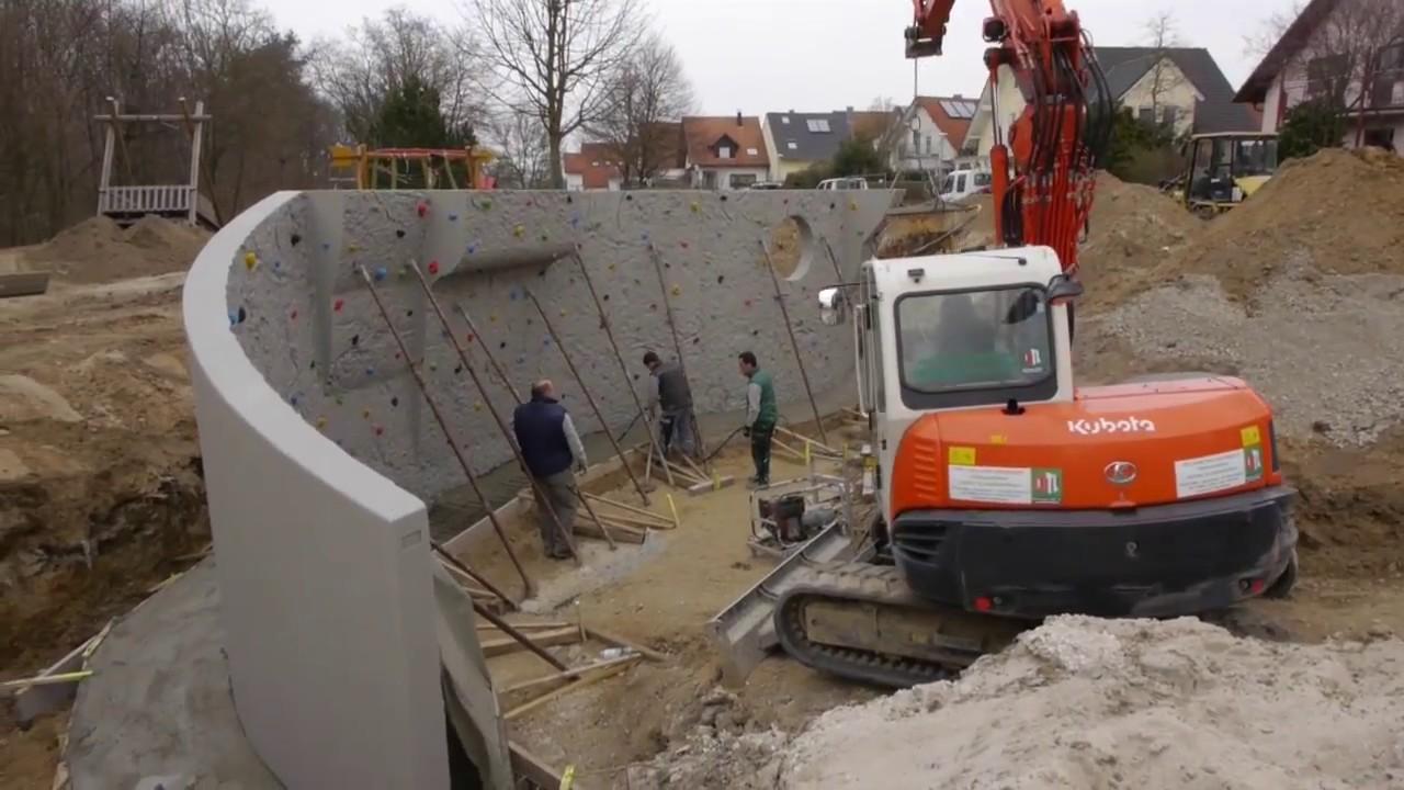 Concrete Rudolph aufbau einer kletteranlage concrete rudolph