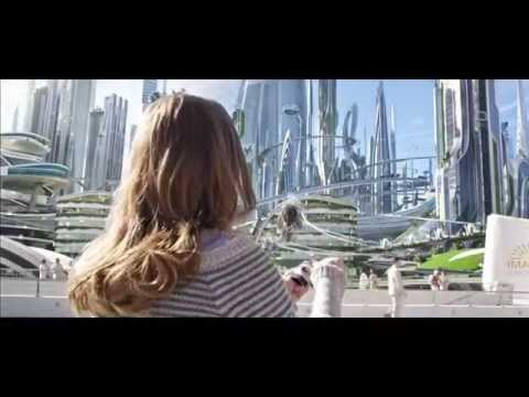 Disney Tomorrowland Future world scene clips