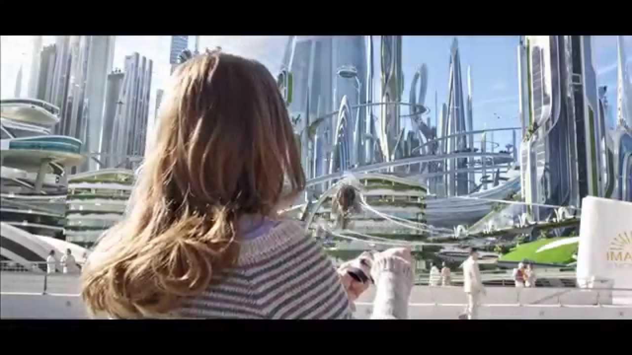 Disney Tomorrowland Future World Scene Clips Youtube