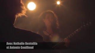 Ta Présence - Poème électro rock dans la pénombre - Avec Nathalie Bentolila et Antonin Gouilloud