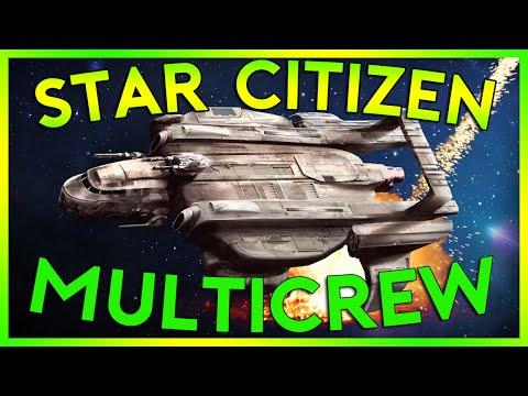 Star Citizen Alpha 2.4 | MULTI CREW STAR...