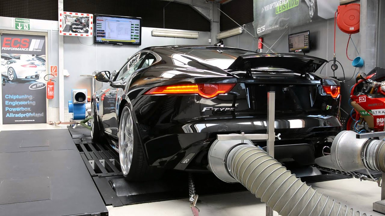 F Type Coupe >> Jaguar F Type / Tuning - YouTube