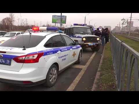 Полицейские задержали угонщика автомобиля на улице Большая Крыловка