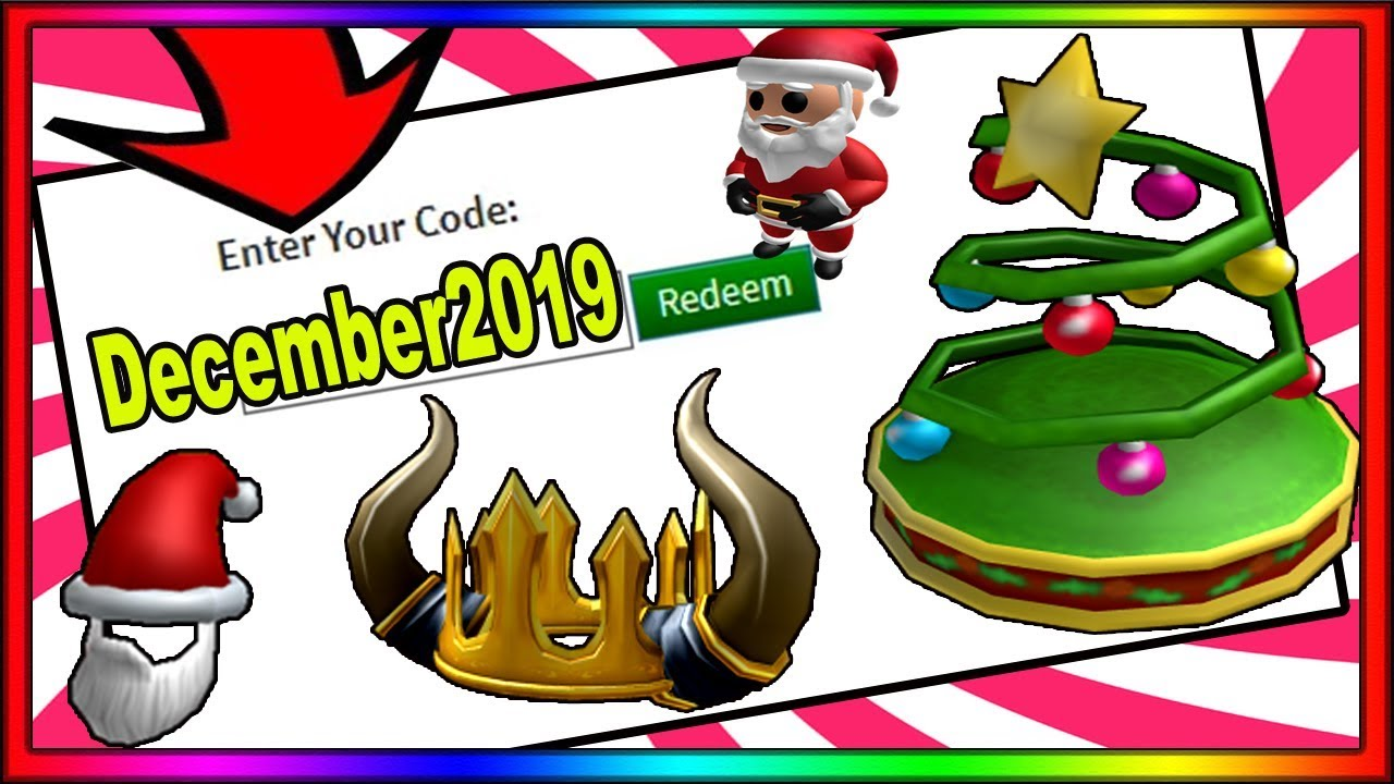 All December 2019 New Roblox Promo Codes Working Youtube