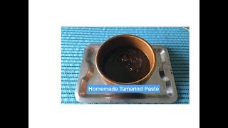 Homemade Tamarind Paste