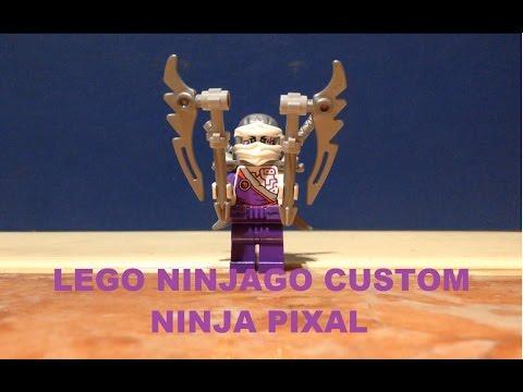 Lego Ninjago Custom Ninja Pixal Youtube