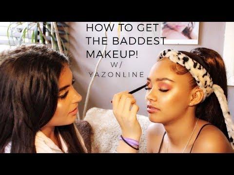Get The Baddest Makeup W/YAZONLINE! | Amelia Monét