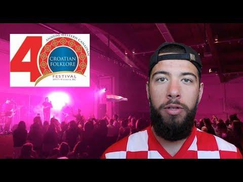 40th Annual Canadian Croatian Folklore Festival West 2017   Victoria B.C.