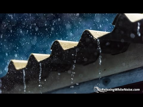 Sleep to Rain & Thunder Sounds | Relaxing Thunderstorm White Noise | 10 Hours