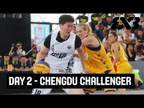 LIVE 🔴 - FIBA 3x3 Chengdu Challenger 2018 - Day 2 - Chengdu, China