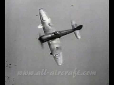 Hawker Typhoon in action