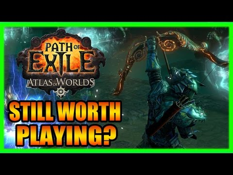 Still Worth Playing Path of Exile? ARPG Chat with New Atlas of Worlds Gameplay Part 1 of 2