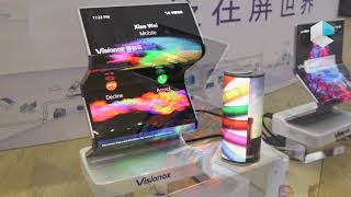 Visionox foldable AMOLED, rollable and multi foldable OLED displays for future foldable smartphones