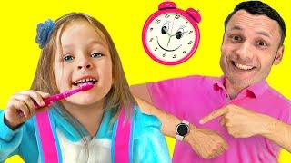 Maya se apresura a la escuela - Video para niños