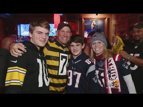 Steelers, Patriots Fans Party At North Shore Bar Before Sunday's Big Game