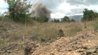 Combined Arms Exercise in Novo Selo Training Area, Bulgaria