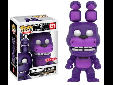 Fnaf Shadow Bonnie Target Funko Pop Vinyl Five Nights At