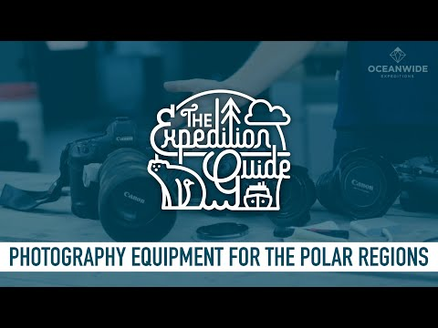 Photography Equipment For The Polar Regions