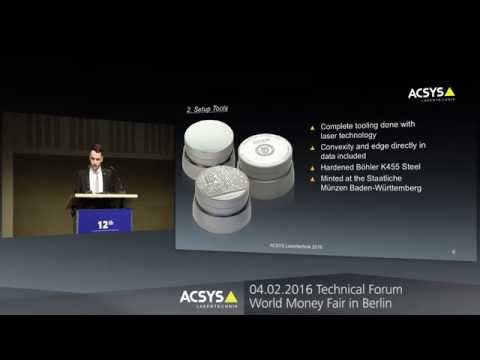 ACSYS - Security features for coins and medals with laser technology
