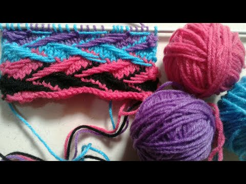 Multi Color Knitting Design In Hindi | Cardigan, Kids & Gents Sweater Design | Design No 20