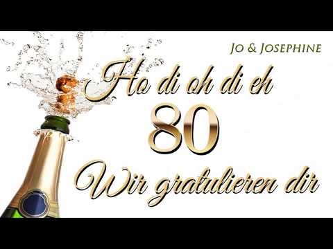 gratulation zum 80. geburtstag