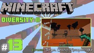 """Minecraft Escape: Diversity II z Torgus/Chucky! [13/x] - """"Gorrrący Nether"""""""