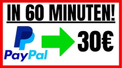 30€ In 60 MINUTEN Mit PAYPAL! (Schnell Geld Verdienen)